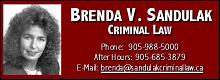 Brenda Sandulak  Criminal Law