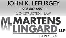 Martens Lingard LLP John Lefurgey - Construction